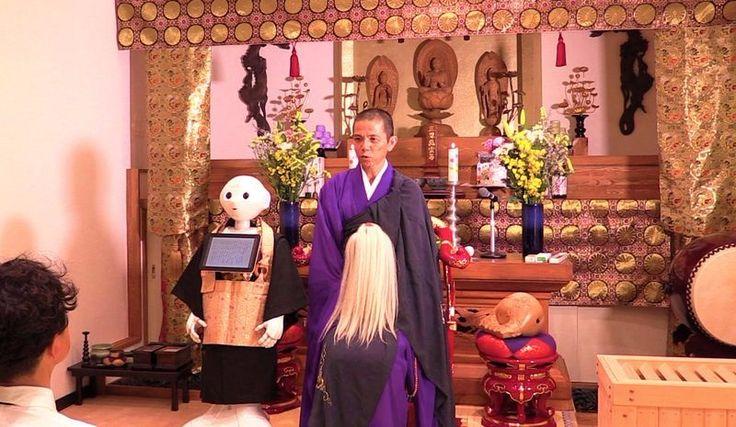 Automatisierte Friedhöfe und Beerdigungen für Roboter-Hunde gibt es in Japan schon länger, demnächst kommt ein buddhistischer Roboter-Priester für die Beerdigung dazu:  Pepper Now Available at Funerals as a More Affordable Alternative to Human Priests. In Japan, a plastic moulding company...