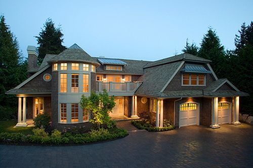 .: Dreams Home, Dreams Houses, Exterior Lights, Window, Wonder Places, Real Estates, Mansions, Westerns Style, Dreamhous