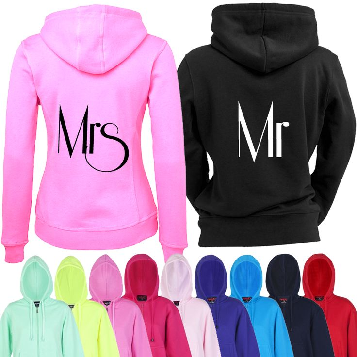 Bride and Groom Hoodies