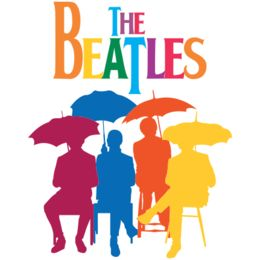 Estampa para camiseta The Beatles 002136