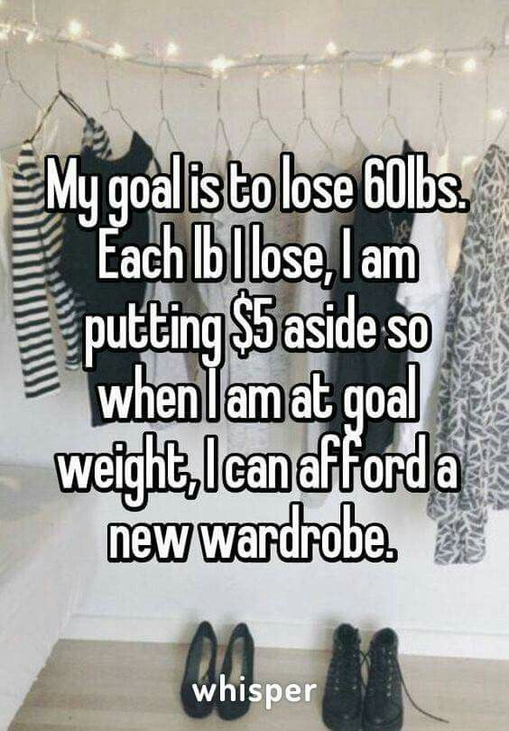 This sounds like a really good idea. And motivation to spend that cash could keep you going.