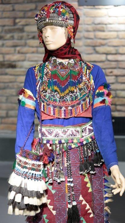 "Turkish woman's traditional dress. From ""KadınKültür"" museum."