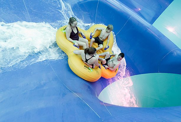 Tropical Cyclone water-ride | Elveden Forest | Center Parcs