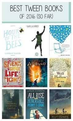 11 of the year's best tween books based on critical reviews, NYT Bestseller lists, Amazon and Goodreads reviews, and librarian and educator recommendations.