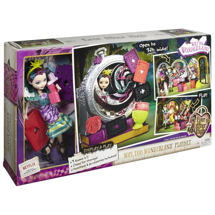 Way Too Wonderland Ever After High Playset with Raven Queen Doll, 2015 ($50 at Shop.Mattel.com, out of stock)