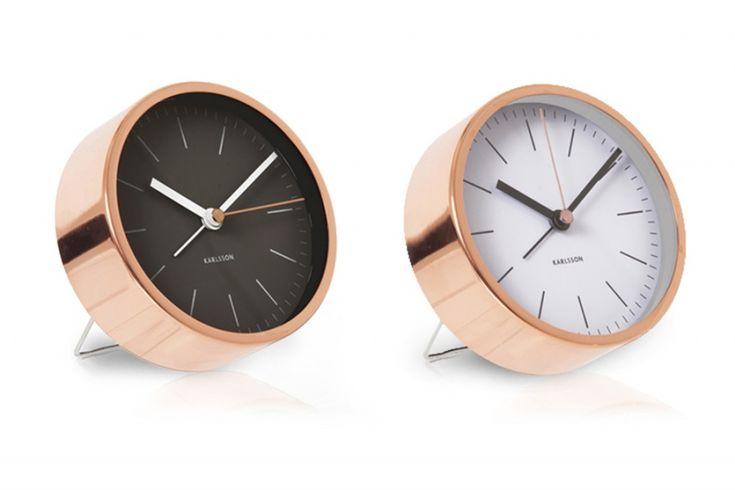 Present Time(プレゼントタイム) アラームクロック 置き時計 Minimal - 北欧インテリア雑貨と家具の通販サイト | CHLOROS (クロロス)