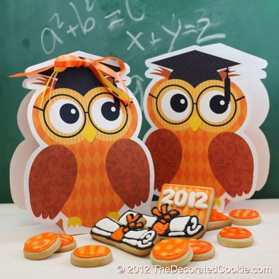 Free Graduation Owl Gift Bag Printables AND a Graduation Cookie Cutter Giveaway · Edible Crafts | CraftGossip.com