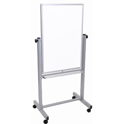 Offex Free-Standing Whiteboard, 3' x 2'