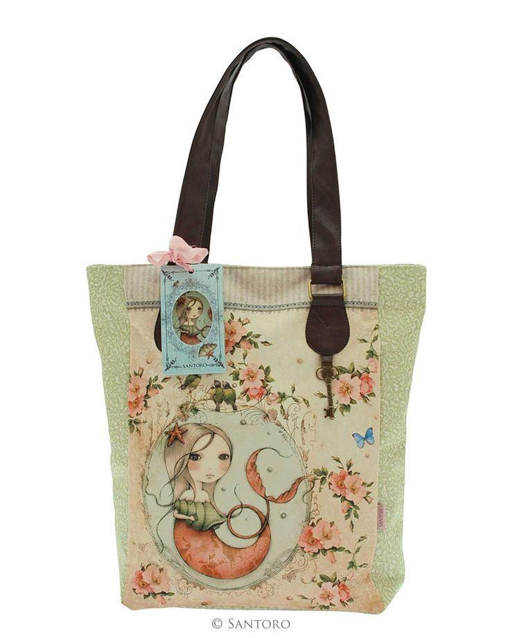 Mirabelle Glitter Shopper Bag - Mergirl