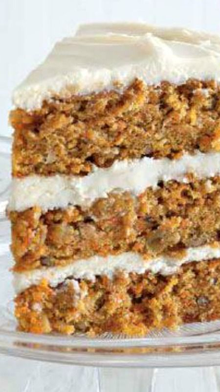 Carrot Cake Recipe ~ Made from scratch... Decadent