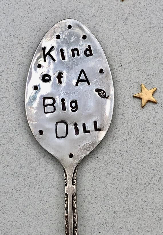 Rise and Slay handstamped vintage coffee spoon