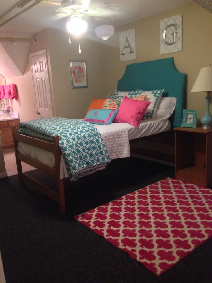 Georgia Southern Dorm Decor Design Pinterest