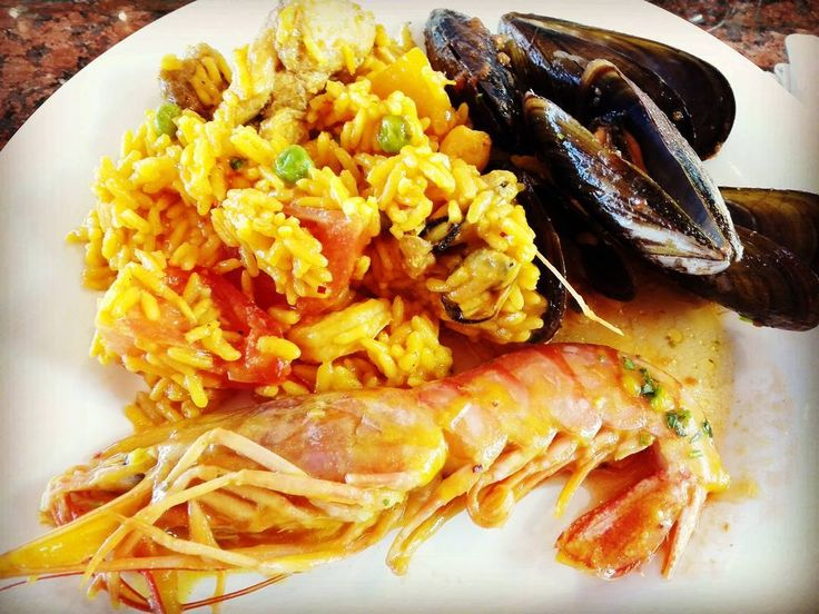 #paella #palmademallorca #spain #instafood #yummy #buonappetito