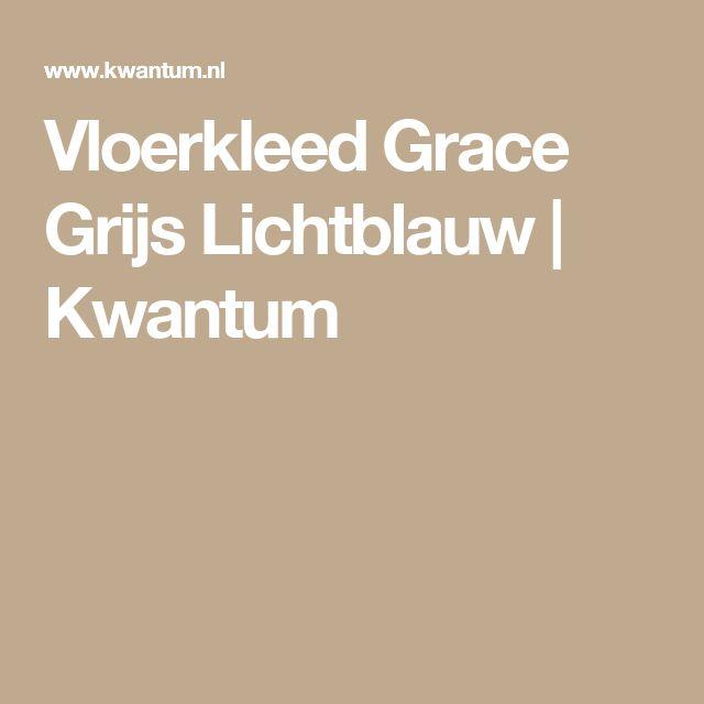 Vloerkleed Grace Grijs Lichtblauw   Kwantum
