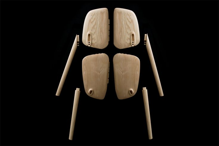 Chaise Osso - Design d'Erwan & Ronan Bouroullec pour Mattiazzi // ©E..Bouroullec