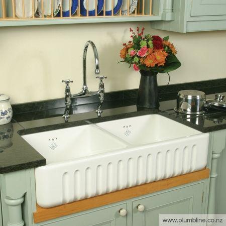 Ribchester 800 Double Butler Sink - Butler Sinks - Kitchen