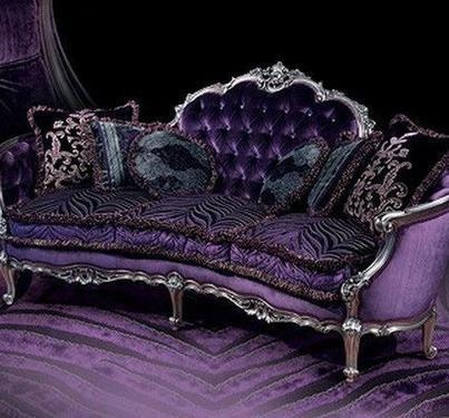 Victorian Loveseat Household Furniture Pinterest Victorian Purple And Bohemian