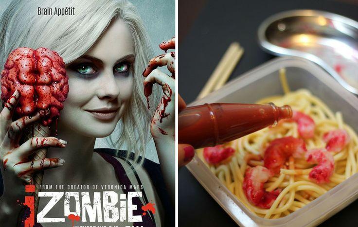 I zombie brain pasta