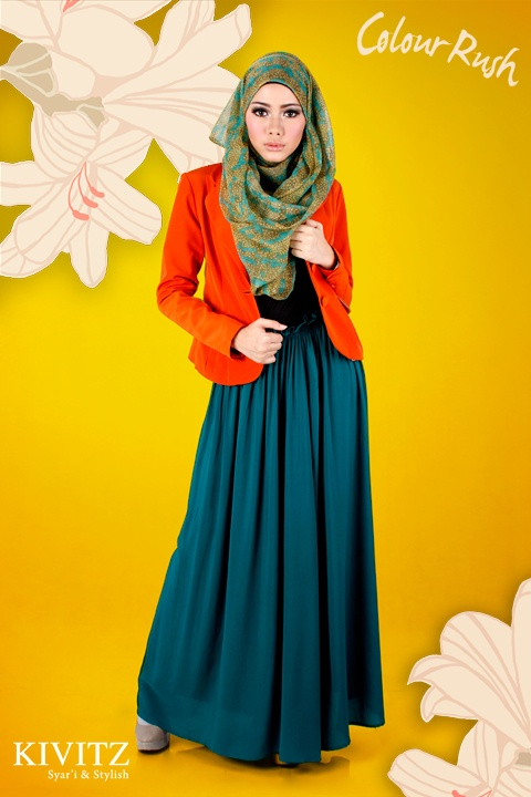 Ristlicious: Colour Rush { Kivitz } #hijab