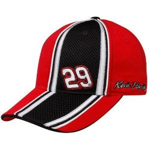 NASCAR Checkered Flag Kevin Harvick Red-Black Qualifier Adjustable Hat by Football Fanatics. $21.95. Quality embroidery. Structured fit. Adjustable hook and loop fastener strap. Contrast stitching. Contrast piping. Checkered Flag Kevin Harvick Red-Black Qualifier Adjustable Hat100% CottonAdjustable hook and loop fastener strapImportedContrast pipingQuality embroideryOfficially licensed NASCAR productStructured fitContrast stitching100% CottonStructured fitAdjustable ...