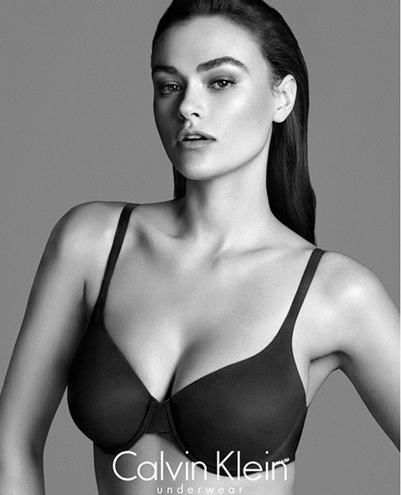 See the Gorgeous Size-10 Model Some People Are Calling Plus-Size via @WhoWhatWear