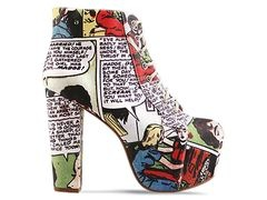 HERE COME MY COMICON SHOES: Black Milk, Campbell Lita, Lita Fab, Style, Jeffreycampbell, Comic Books, Blackmilk, Jeffrey Campbell, Comic Shoes