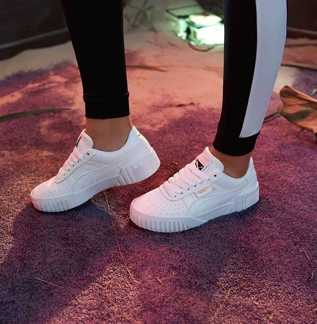 Puma shoes women, White puma sneakers