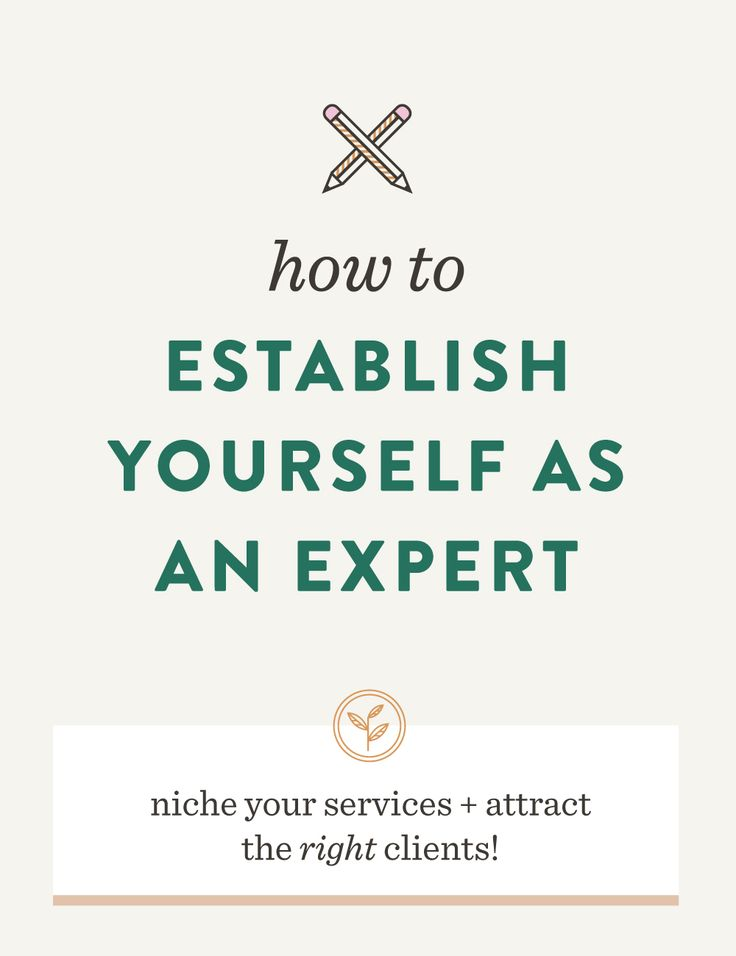 Establish yourself as an expert of your niche. learn how to find the topics you know the most of and attract the right clients!