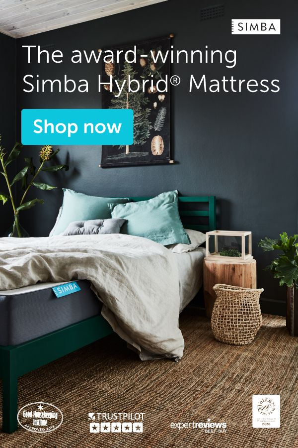 Our Award Winning Simba Hybrid Mattress Has Won Product Of The Year 2018 Selected As An Expe Bedroom Decor Inspiration Bedroom Inspirations Guest Room Office