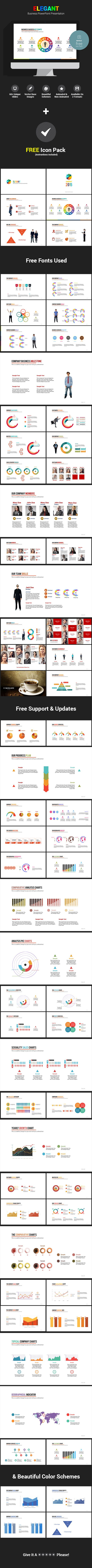 718 best powerpoint templates images on pinterest presentation buy elegant business powerpoint presentation by pxdeveloper on graphicriver this modern powerpoint presentation is a size presentation template that can toneelgroepblik Gallery