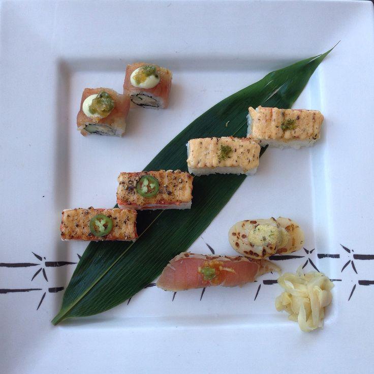 Aburi sushi melts in your mouth! (Miku)