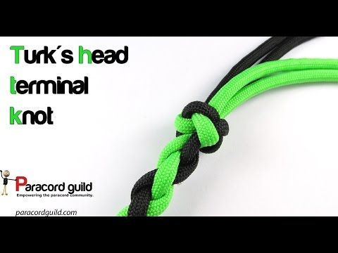 How to tie the turk's head terminal knot | Paracord guild