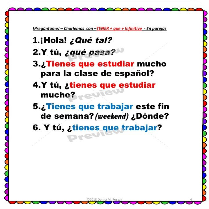 que questions in spanish
