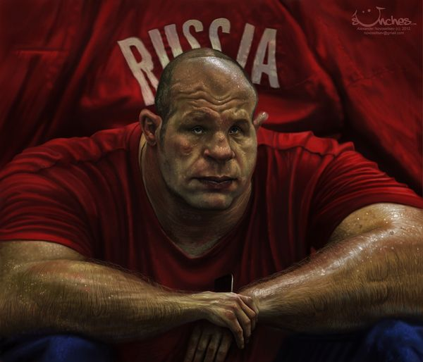 Fedor Emelianenko by Alex Novoseltsev, via Behance