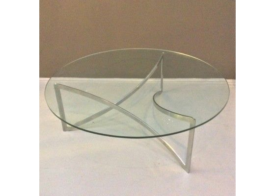 Glas Und Metall Couchtisch 1970er 101000 EUR Inkl MwSt Zzgl