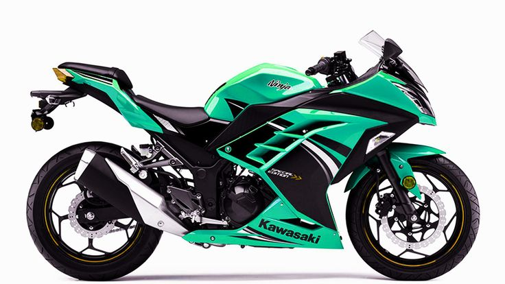 kawasaki ninja 300 green. I'm in love