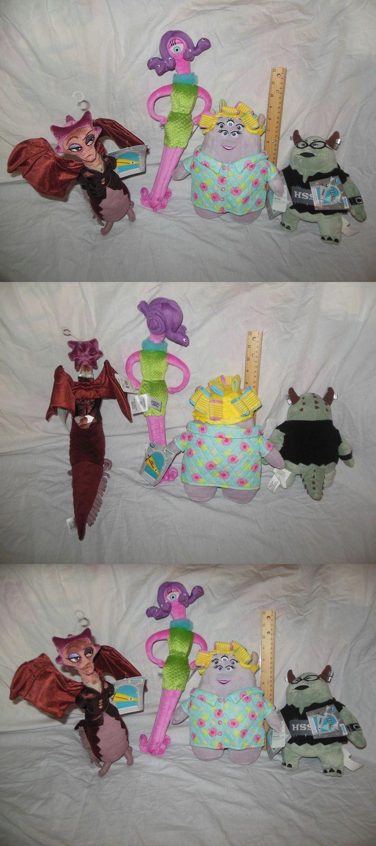 Monsters Inc 44038: Girls Monsters Inc University 4 Plush Patch Hardscrabble Rosie Squibbles Celia -> BUY IT NOW ONLY: $35 on eBay!
