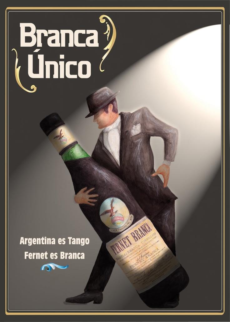argentina es tango. fernet es branca