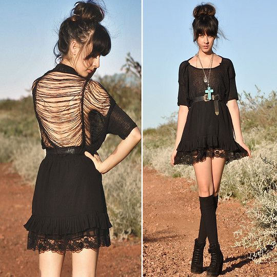 love thisHigh Buns, American Apparel, Style, Clothing, Dark Beautiful, Dark Side, Fall Fashion, The Dresses, Dresses Shape