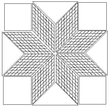 Lakota Star Quilt Pattern Free Strip Pieced Lone Star