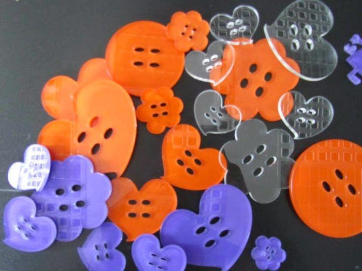 Laser Point  Roma: Bottoni e bottoncini in plexiglass