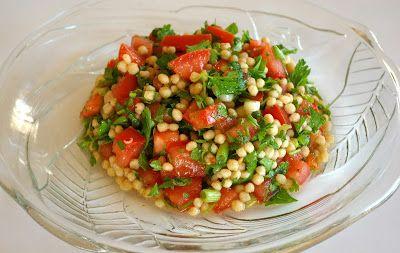 zadanie - gotowanie: Sałatka tabbouleh.