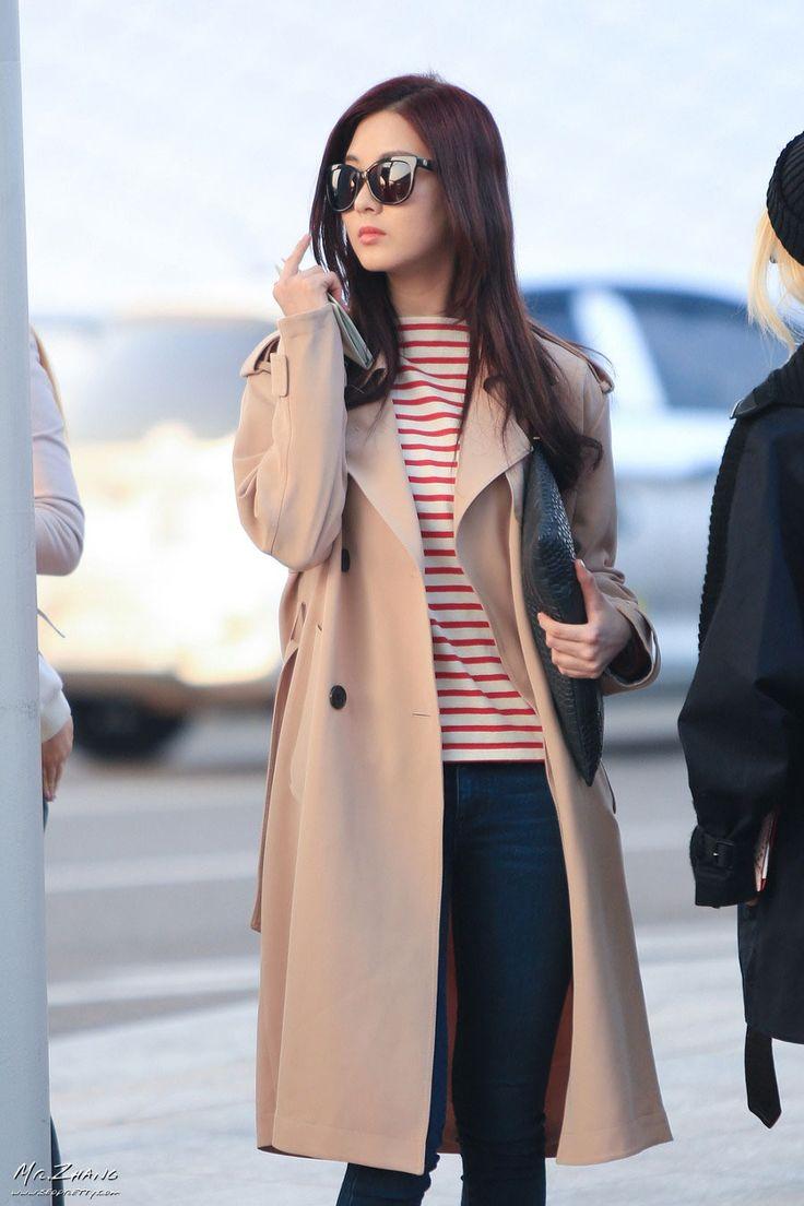 Korean airport fashion.