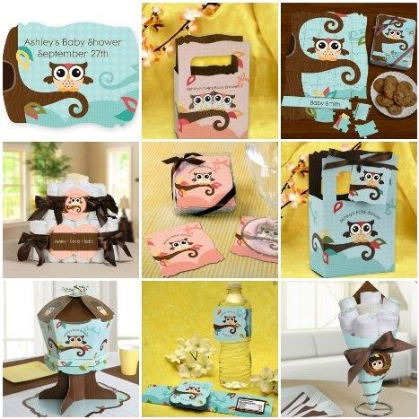 Owl Baby Shower Decoration Ideas   While there are many decorations to purchase online , you probably ...
