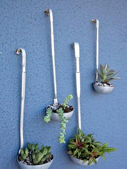 diy repurpose ladles