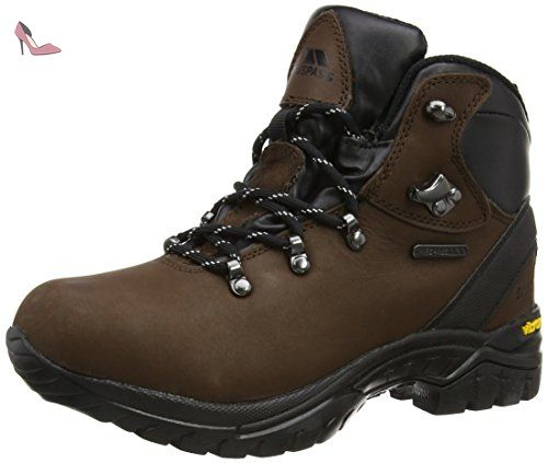 Trespass Dukey, Chaussures d'Athlétisme Homme - Marron (Brown), 40 EU