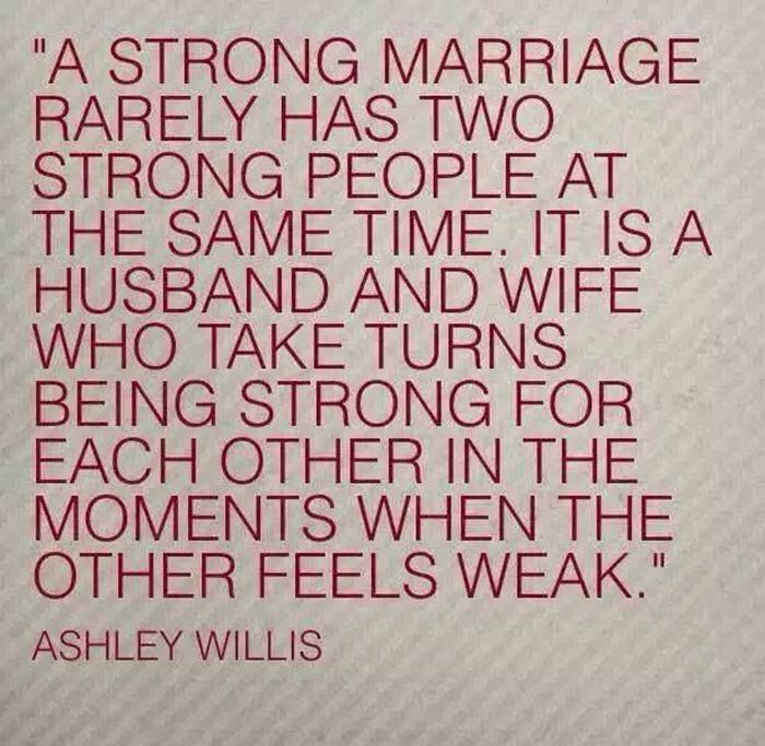 """This is not always true! I'm some marriages the one who stays strongest will continue to be until the end. I seemed to be the glue that held mine together for 14 years until I said """"fuck this, no more""""!"""