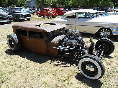 1928 Ford Tudor Sedan Model A Hot Rat Rod ...