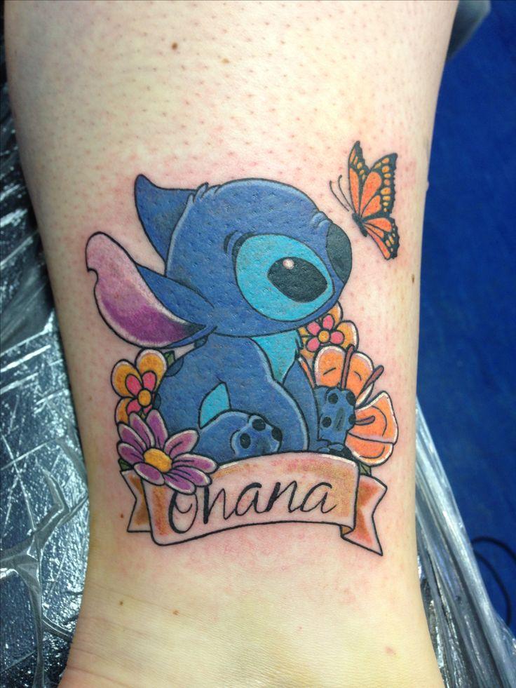 Stitching Tattoo: 67 Best Lilo And Stitch Tattoos Images On Pinterest