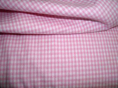 NB 5581-11 Katoen Boerenbont ruitje roze 0.2